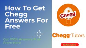 Chegg Answers Free