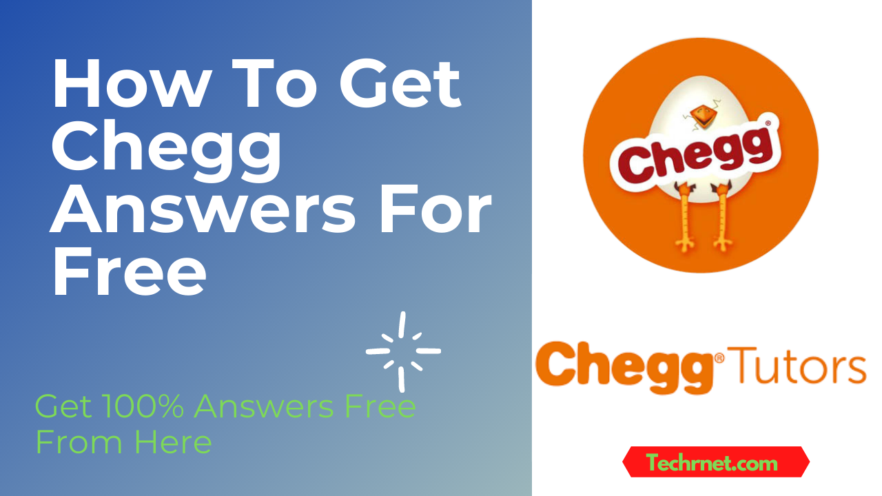FREE Chegg Answers – Unblur Chegg Questions Online 2021 (100% Working)