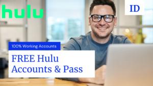 FREE Hulu Accounts